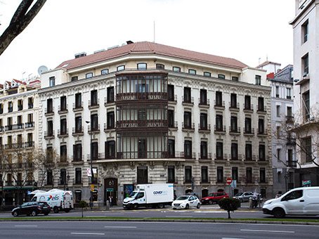 Building at Alcalá, 61, 2nd & 3rd floor in Madrid 1