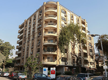 Building at Road 18, Sarayat El Maadi, 5th Floor, Building # 55, In front of gate #3 of Maadi Sporting Club in Cairo 1