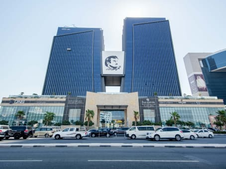 Building at Al Shoumoukh Towers, 10th floor, Tower B, C - Ring Road, Al Sadd in Doha 1