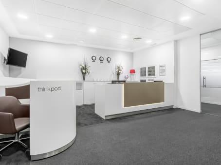 Alquiler de oficinas en sevilla nervion regus espa a for Oficinas cajasol sevilla