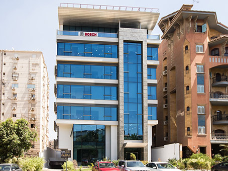 Building at 22, Kamal El-Din Hussein St, Heliopolis Sheraton in Cairo 1