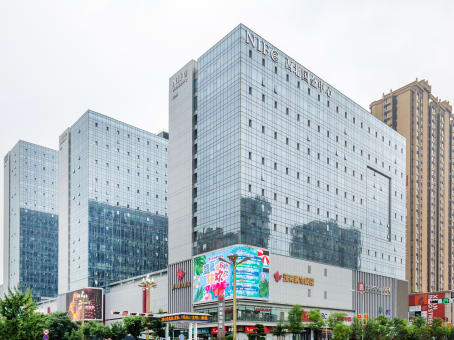 Building at 14/F, Tower D, NIFC, Northwest of Fengchengba Road and Wenjing Road, Weiyang District in Xian 1