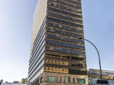 Building at 1200 McGill College Avenue, Suite 1100 in Montreal 1