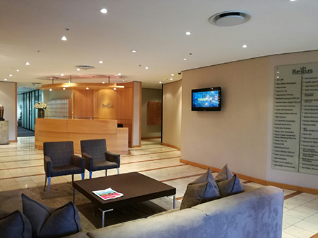 Regus Business Lounge in Johannesburg Sandton Nelson Mandela Square