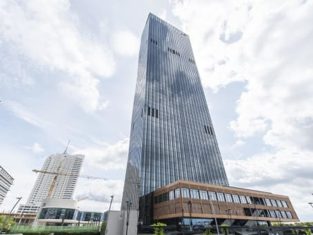 Building at 30th floor, DC Tower Donau-City-Strasse 7 in Vienna 1