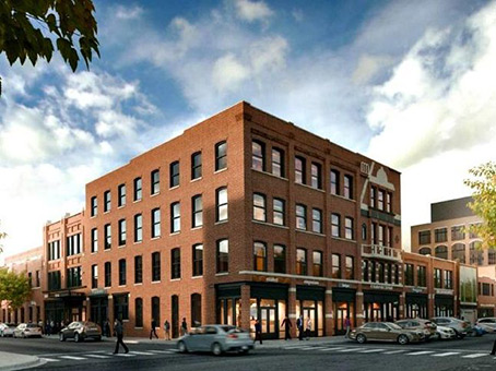 Building at 159 N. Sangamon Street, Suite 200 & 300 in Chicago 1