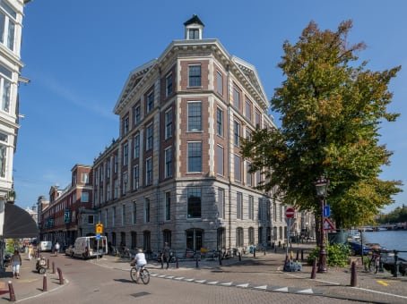 Building at Keizersgracht 555 in Amsterdam 1