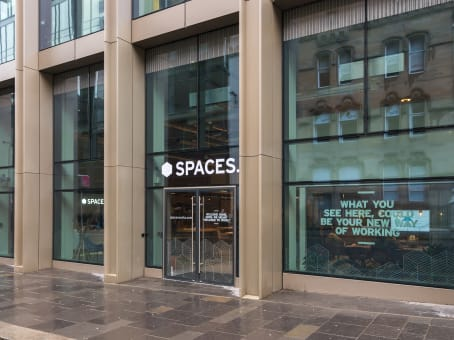 Glasgow, Spaces West Regent Street