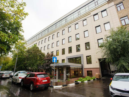 Building at 4th floor, Leningradskiy Prospect, 47/2 in Moscow 1