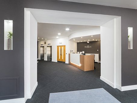Regus Business Lounge in Aberdeen Berry Street