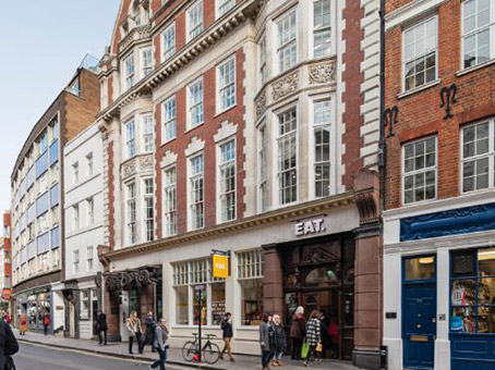 Building at 60 St Martins Lane, Covent Garden in London 1