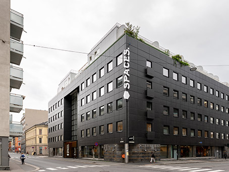 Building at Calmeyers gate 5 in Oslo 1