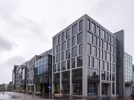 Building at 1 Marischal Square, Broad Street in Aberdeen 1