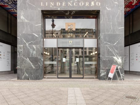 Building at 2nd floor, Lindencorso, Unter den Linden 21 in Berlin 1