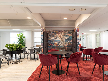 Regus Business Lounge in Stockholm Stureplan