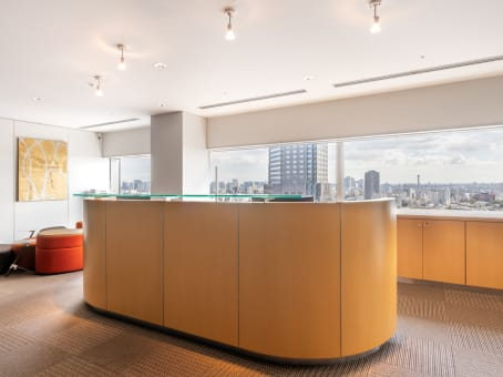 Regus Business Lounge in Tokyo Shibuya Mark City
