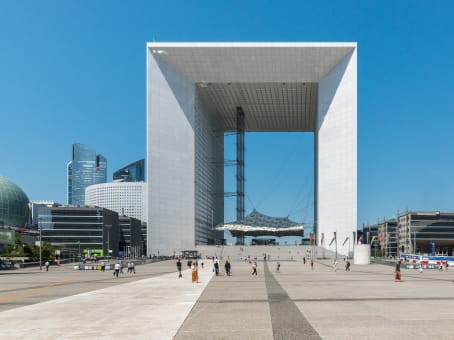 Building at La Grande Arche, Paroi Nord, La Défense in Paris 1