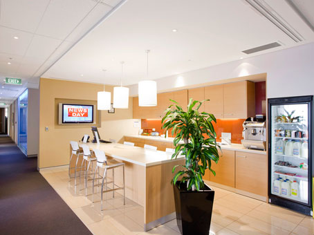 Regus Business Lounge in Sydney Circular Quay
