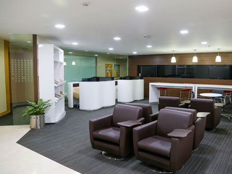 Regus Business Lounge in Bangalore UB City