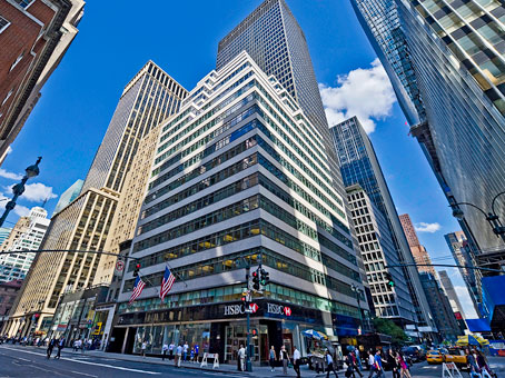 Regus Business Centre in Midtown Manhattan