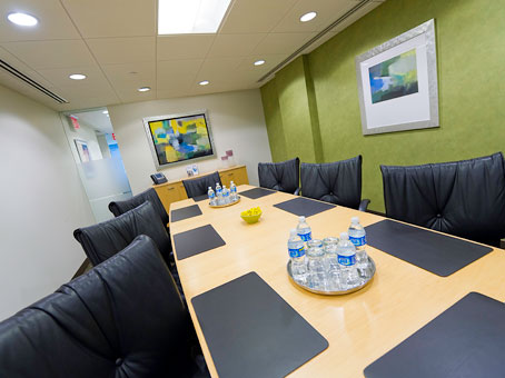 Regus Business Lounge in Midtown Manhattan