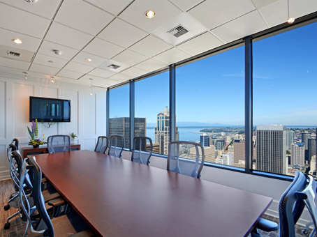 Regus Meeting Room in Bank of America Plaza