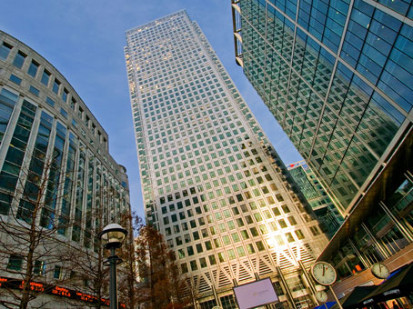 Regus Business Centre in London Canary Wharf