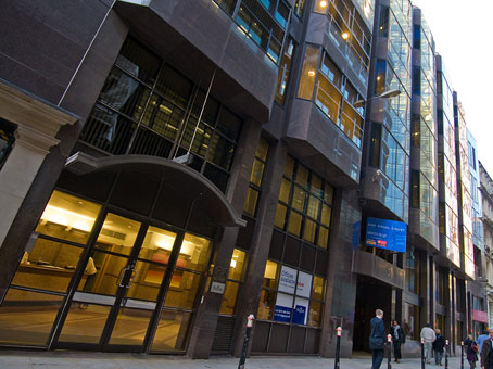 Regus Office Space, London Stock Exchange