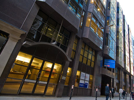 Regus Virtual Office, London Stock Exchange