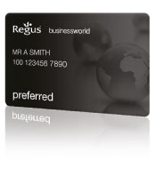 Regus BusinessWorld preferred Card