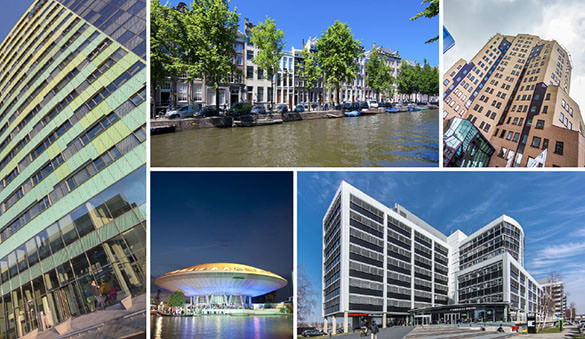 Office space in Utrecht and 76 other locations in Netherlands