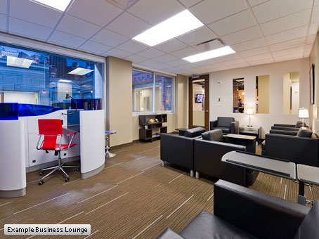 Regus Business Lounge in Dublin, Airport
