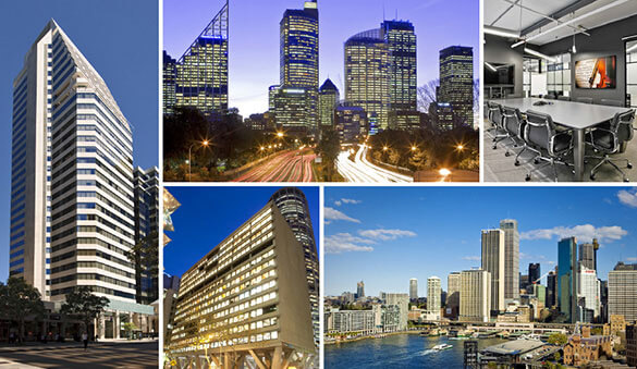 Office space in Sydney and 81 other cities in Australia