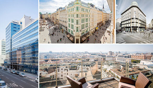 Office space in Vienna and 23 other cities in Austria
