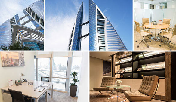 Virtual offices in Manama and 3 other cities in Bahrain