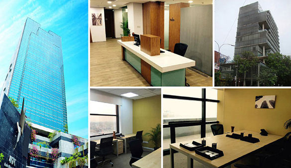 Office space in Dhaka and 2 other cities in Bangladesh