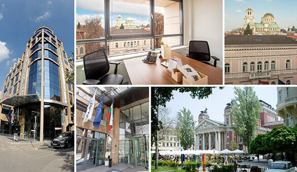 Virtual offices in Sofia and 4 other cities in Bulgaria