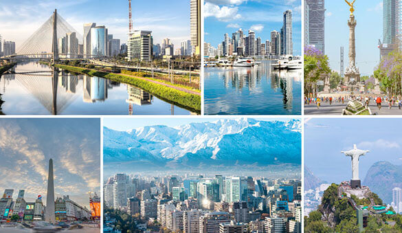 Virtual offices in Santiago de Chile and 12 other cities in Chile
