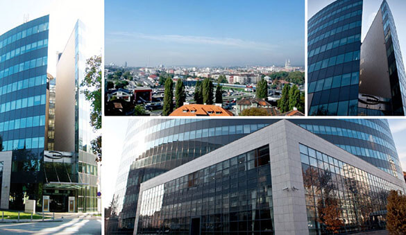 Office space in Zagreb and 2 other cities in Croatia