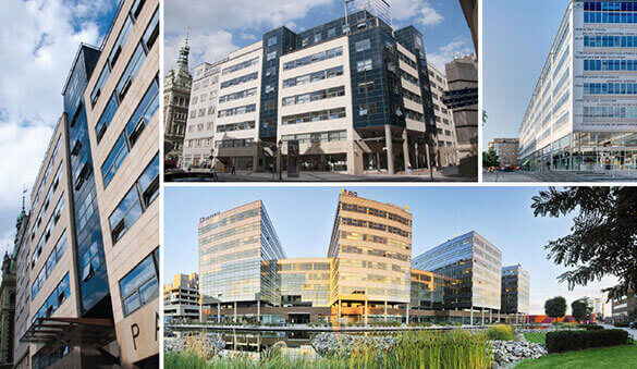 Office space in Ostrava and 11 other cities in Czech Republic