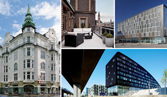 Office space in Odense and 18 other cities in Denmark