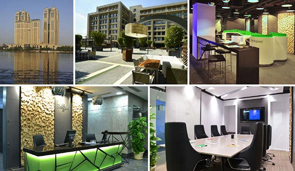 Co-working in New Cairo and 11 other cities in Egypt