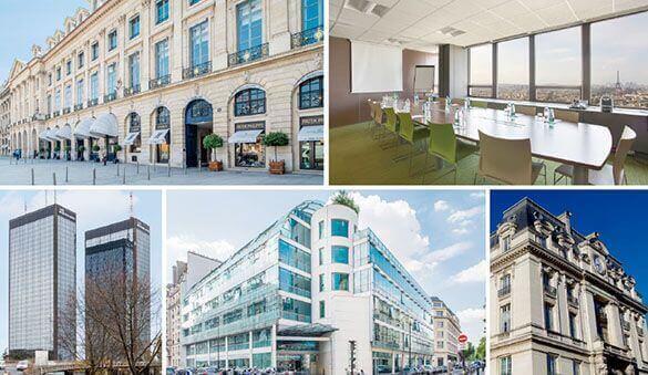 Office space in Paris and 114 other cities in France