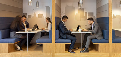 Technologie - veilige, supersnelle wifi in alle Regus-centers