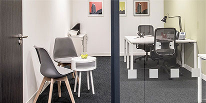 Platinum plus Businessworld membership includes the use of a rental office for privacy and focus