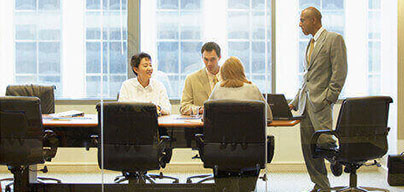 Boardrooms - large well furnished boardrooms with space for 8 - 12 people