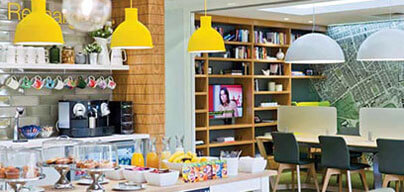 Facilities - kitchen area with tea and coffee making facilities and fully furnished private offices