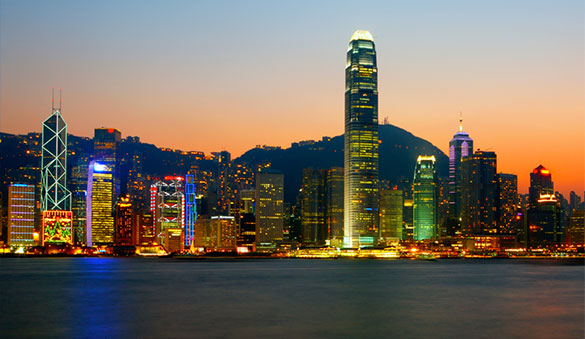 Office space in Central and 18 other cities in Hong Kong