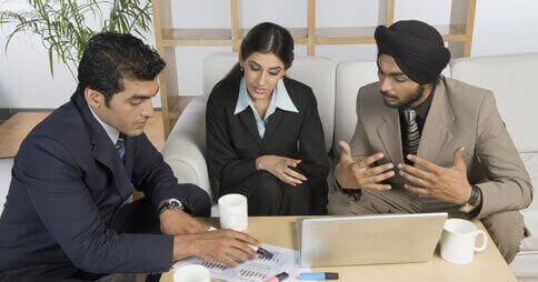 Interview rooms - meeting with prospective candidates with no limit on guests