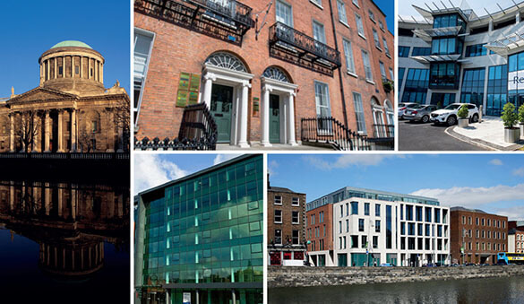 Office space in Dublin and 13 other cities in Ireland